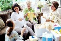 Schwangere Verwandte Erstausstattung