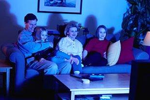 Fernsehen Familie