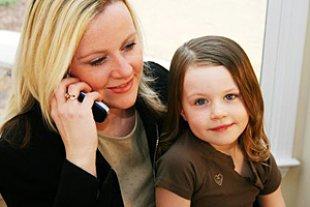Frau Telefon Job Kind