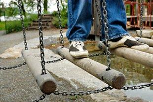 Spielplatz Kinderfuesse