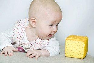 Baby Spiezeugwuerfel