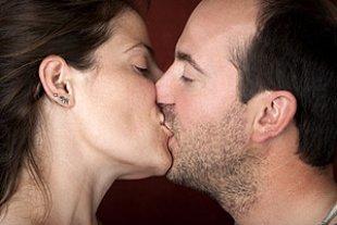 Kuss Mann Frau