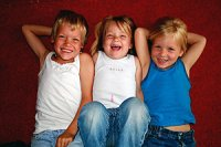 Geschwister drei