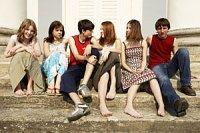 Teens auf Treppe panther R Linkova