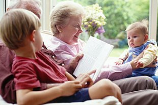 Grosseltern Enkel lesen