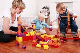 Kinder Betreuung Babysitter