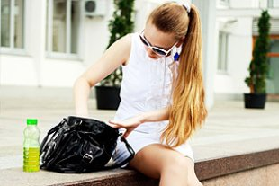 Handtasche Stress