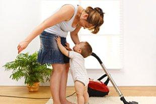 Mutter Haushalt Baby