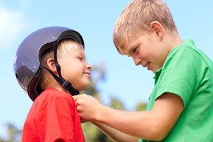 Kind hilfsbereit Werte