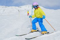 Kind Skifahren