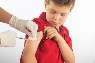 Impfen junge