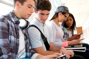 Jugendliche Smartphone