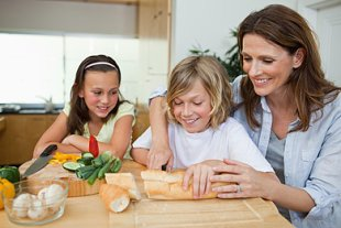 Familie Essen Glücklich Allergie