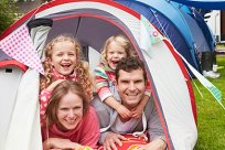 Checkliste Familie Camping