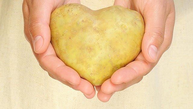 Kartoffel Herz krumm Slider