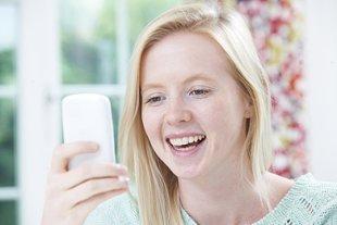Teenager Selfie Gewicht