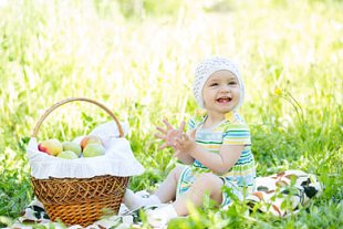 Baby Frühling