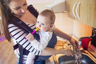 Baby Haushalt meistern