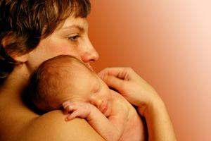 Mutter Neugeborenes
