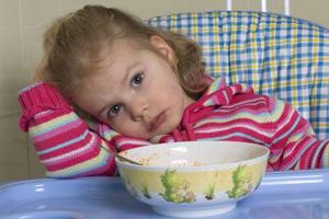 Kind verweigert Essen