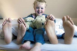 Kind Elternbett panther F Roeder