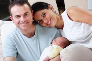 Familie Geburt daheim