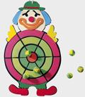 Klettwurfspiel Clown babywalz