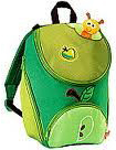 Kindergartenrucksack Apfel step by step