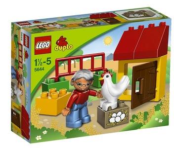 Hühnerstall von Lego