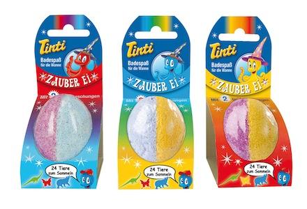 Zauber Ei für die Badewanne