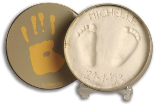 Gipsabdruckset für Babyfüße oder Hände
