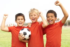 Jungen Fußball