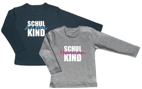 T-Shirt für den Schulstart