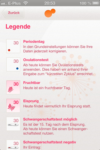 App: Legende