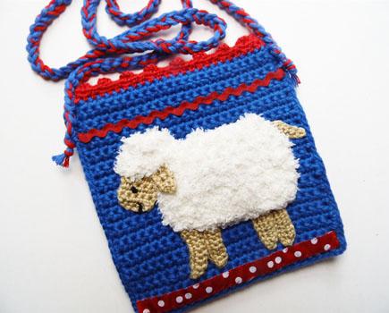 Schaf-Handtasche
