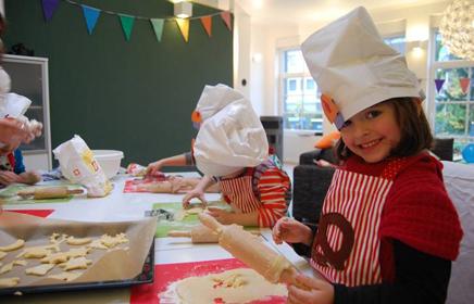 Bäckerparty Kindergeburtstag