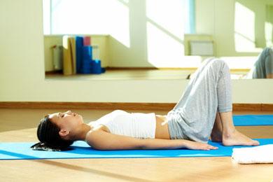 Frau Yoga Kinderwunsch