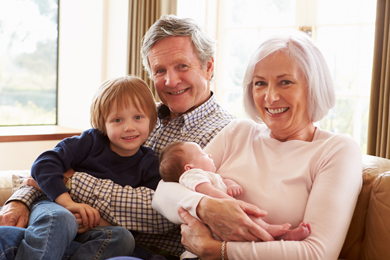 Großartige Großeltern