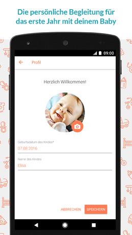 Baby-App von urbia