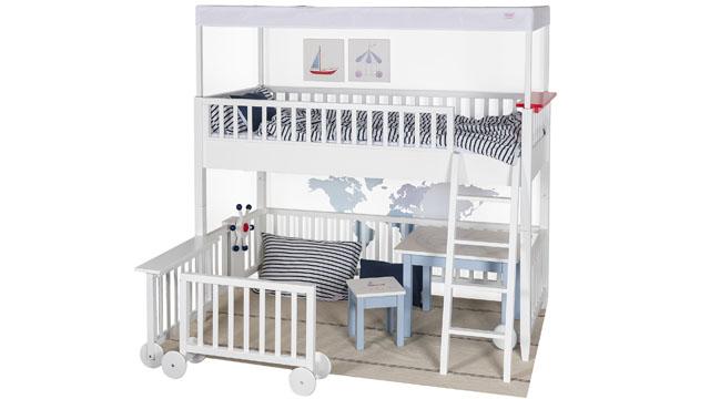Design im Kinderzimmer: Spielbett von isle of dogs