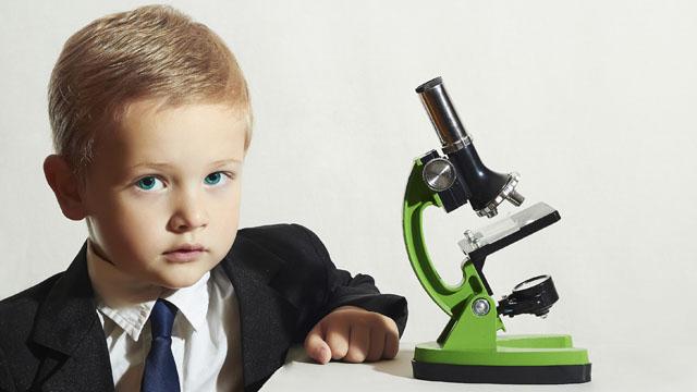 ...mein Kind ist ein kleiner Forscher,