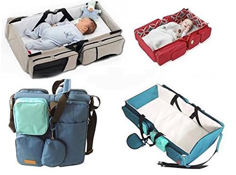 Schlaf+ und Wickeltasche