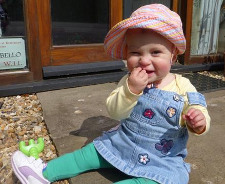 Frühchen Ella heute