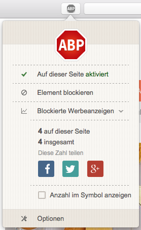 AdBlocker safari