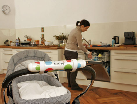 Kinderwagen-Schaukler: Shake it, Baby!