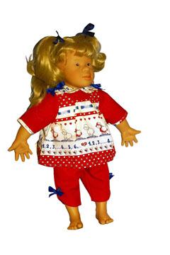 Puppen wie Down-Kinder