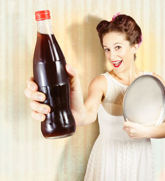 Spermien mit Cola ausspülen