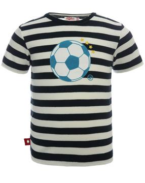 Fußball T-Shirt im Streifenlook