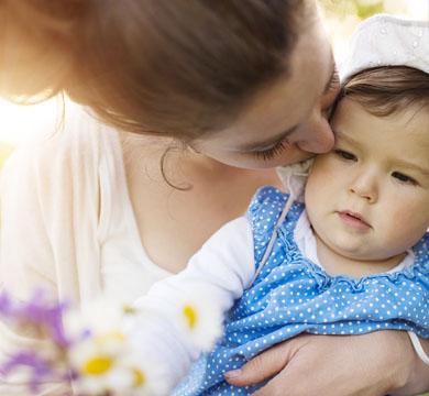 Ein Kuss von Mama