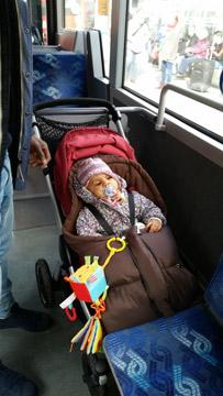 auch Busfahren ist mit dem Stella kein Problem